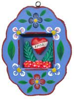 Amor Eterno, Peruvian Retablo , Tattoo Art