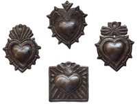 Metal Milagro Hearts