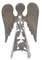 nativity with a angel haiti metal art
