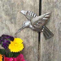RECYCLED METAL ART HAITI GARDEN ART