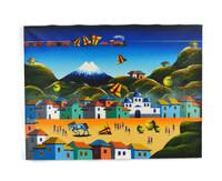 "Ecuador Painting  23 1/2"" X 17 5/8"""