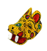 "Ornamental Hancrafted Tiger Mask 3"" x 4"""