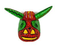 "Ornamental Hancrafted Bull Mask 3"" x 4"""