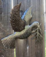 Dove of Peace Garden Patio Yard Art, Haiti metal art