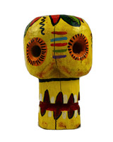 Skull , hand carved guatemala