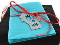 day of the dead steel skeleton , skull , gift tag , ornamentday of the dead steel skeleton , skull , gift tag , ornament