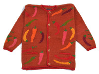 Bolivian Sweater 100% wool, Women's one size fits all super warm