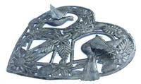 dementional fair trade art recycled steel haiti