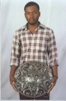 Photograph of It's Cactus Haitian Metal Artist, Croix Des Bouquete