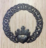 celtic claddagh, religious wall art