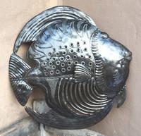 sea theme wall art , metal fish