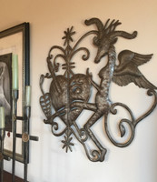 VEVE AND VOODOO HAITIAN METAL ART