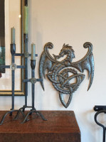 metal wall art , haiti, fair trade recycled