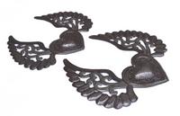 Hearts with Wings, Milagro, Handmade in Haiti