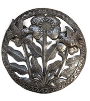 SMALL HAITIAN METAL ART