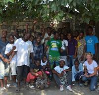 Haitian Artist, Fair Trade, Haiti Art Under the Tree Group