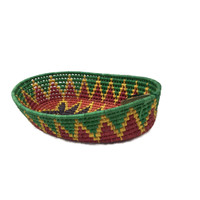 decorate your table for cinco de Mayo with colorful Mexican Baskets