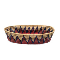 Folkart Mexican Colorful Basket