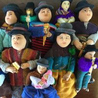 Bolivian Crowd, Folk Art