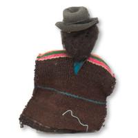 Bolivian Man in Pancho