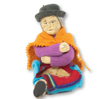 Soft Sculpture Bolivian Handmade Doll