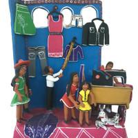 Folk Art Mexico Tailor shop