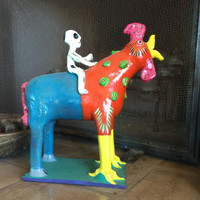 Humorous Mexican One of a Kind Art
