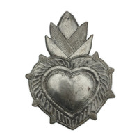 flaming heart image of ever lasting forgiveness, Haiti Metal Wall Art