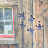 Birds to decorate your walls indoor or out!