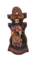 "St. Joseph, Religious Saint, Artisan Crafted Wooden Saints 3.5"" x 3"" x 7.5"""
