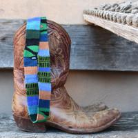 Southwestern style belt or hatband