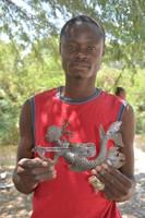 Haitian Metal Artist Joubert Brutus