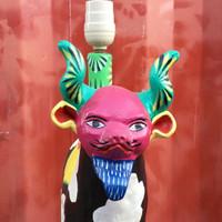 Devil Mask worn by a Cow