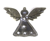 Christmas tree angel ornament