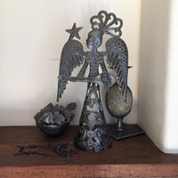 Norvh St. Bonheur Haiti metal art