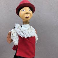 paper mache puppet