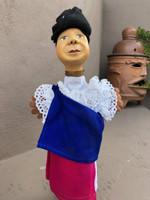 otavalan woman puppet
