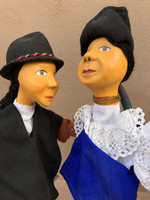 puppets handmade telling story of culture in Ecuador