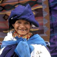 Ecuadorian Woman Traditional Dress