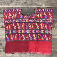 Traditional womans blouse, HUIPLE GUATEMALA Huipil - San Juan Cotzal