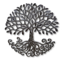 Tree of Life, Roots, Its Cactus, Haiti Metal Art, Sculpture, Garden Decor, Home, Office, Artist, Haiti, Haitian, Help Fight Poverty Through Art Fair Trade