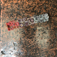 "Mayan Arts Handmade, fair Trade Bracelet Made with Seed Beads from Guatemala, Magnetic Clasp 1.25"" x 6.75"""