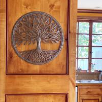 Tree of life Metal wall art, Handmade Fair Trade