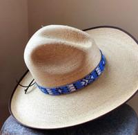 HATBANDS, COWBOY HATS, BEADED, HANDMADE, GUATEMALA
