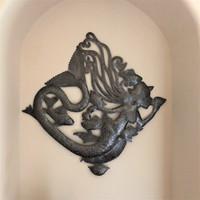 SEA MERMAID WALL ART , POOLSIDE OR BATHROOM