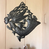 HAITI METAL WALL ART ANGEL