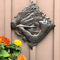 HAND CUT METAL WALL ART HAITI