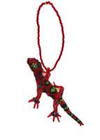 hand made beaded gecko santiago atitlan guatemala