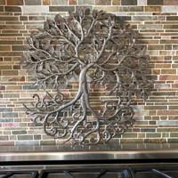 fair trade metal wall art