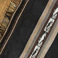 Bolivian Poncho Oruro Potosi Vintage Textile